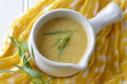Butternut Squash Soup w/Lemon & Tarragon