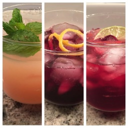 Three Mocktails
