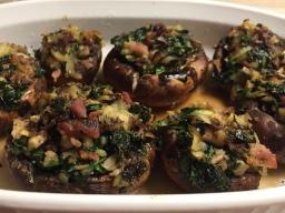 Stuffed Cremini Mushrooms