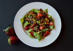 Spring Salad & Strawberry Balsamic Vinaigrette