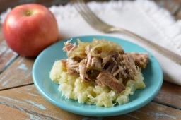 Braised Pork Ribs w/Apple Parsnip Mash