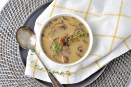 AIP Cream of Mushroom Soup